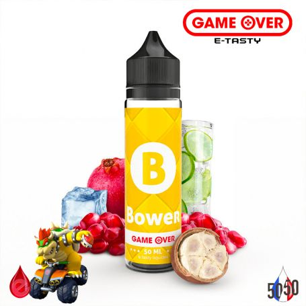 BOWER 50ml - GAME OVER par e-tasty