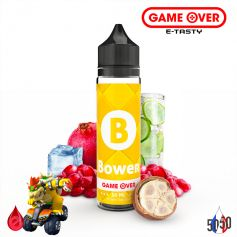 BOWER 50ml - GAME OVER par e-tasty