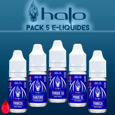 PACKS Multi-10ml PACK DE 5 E-LIQUIDE HALO