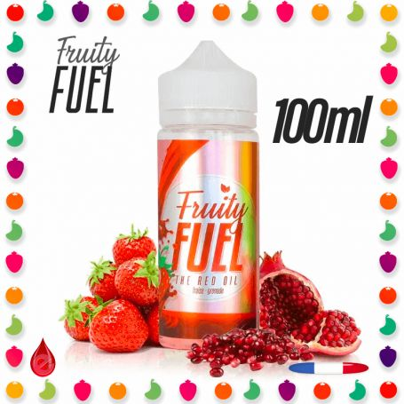 THE RED OIL - FRUITY FUEL 100ml
