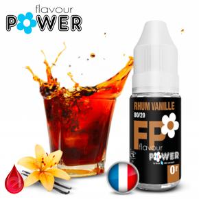RHUM VANILLE - Flavour POWER - e-liquide 10ml