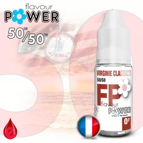 50/50 VIRGINIE CLASSICS - Flavour POWER - e-liquide 10ml