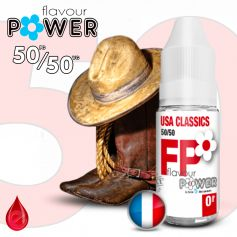 50/50 USA CLASSICS - Flavour POWER - e-liquide 10ml