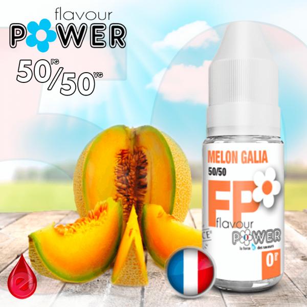 50/50 MELON GALIA - Flavour POWER - e-liquide 10ml