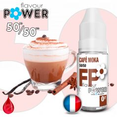 50/50 MOKA CAFE - Flavour POWER - e-liquide 10ml