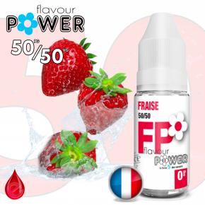 50/50 FRAISE - Flavour POWER - e-liquide 10ml