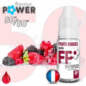 50/50 FRUITS ROUGES - Flavour POWER - e-liquide 10ml