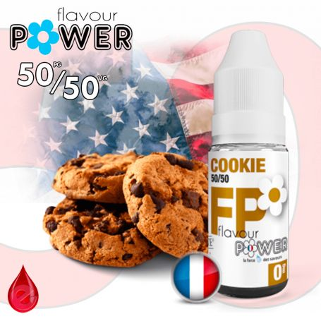 50/50 COOKIE - Flavour POWER - e-liquide 10ml