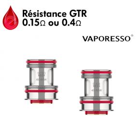 Résistances GTR mesh Vaporesso
