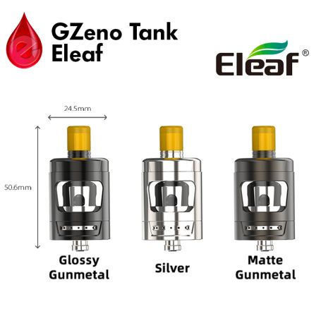 Clearomiseur GZeno Tank ELEAF