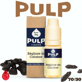 REGLISSE DE CALABRE - e-liquide PULP