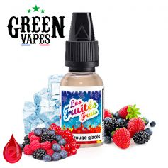 FRUITS ROUGES GLACÉS - GREEN VAPES