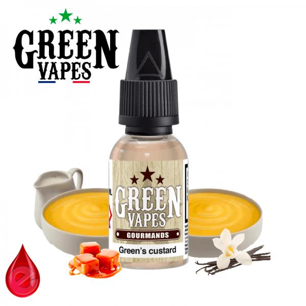 GREEN'S CUSTARD - GREEN VAPES-eliquide