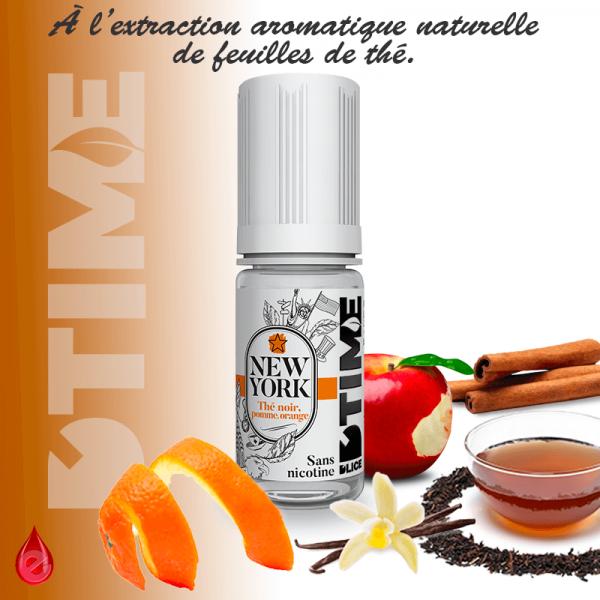 NEW YORK - D'TIME - e-liquide 10ml-eliquide