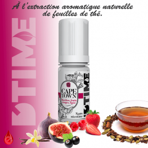 CAPE TOWN - D'time - e-liquide 10ml