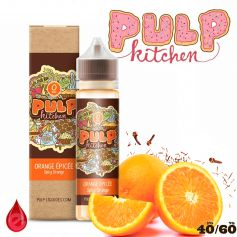 ORANGE ÉPICÉE- e-liquide 50ml PULP KITCHEN
