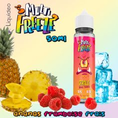 CRAPULE ANANAS FRAMBOISE - Liquideo MULTI-FREEZE 50ml