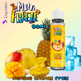 SACRIPANT MANGUE ANANAS - Liquideo MULTI-FREEZE 50ml