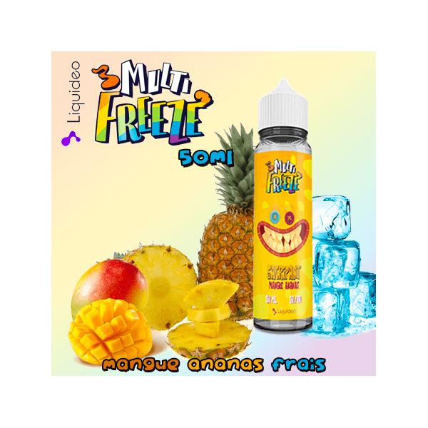 SACRIPANT MANGUE ANANAS - Liquideo MULTI-FREEZE 50ml