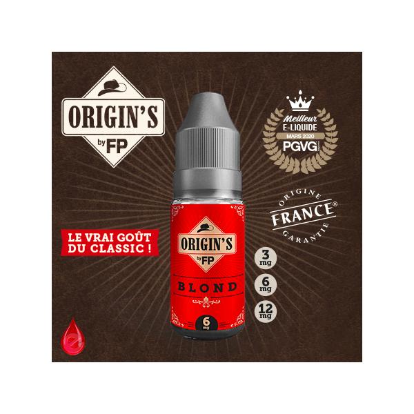 BLOND - ORIGIN'S by FP - e-liquide 10ml