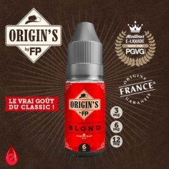 BLOND - ORIGIN'S by FP - e-liquide 10ml