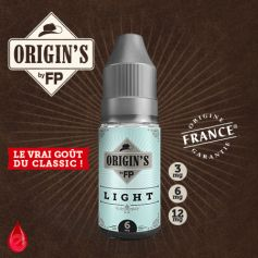 LIGHT - ORIGIN'S by FP - e-liquide 10ml
