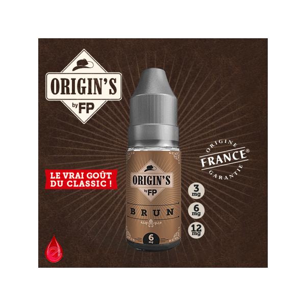 BRUN - ORIGIN'S by FP - e-liquide 10ml