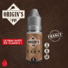 BRUN - ORIGIN'S by FP - e-liquide 10ml