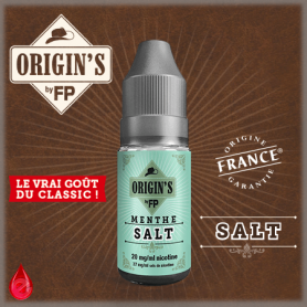 MENTHE SALT - ORIGIN'S by FP - e-liquide 10ml