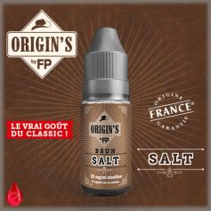 BRUN SALT - ORIGIN'S by FP - e-liquide 10ml