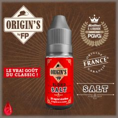 BLOND SALT - ORIGIN'S by FP - e-liquide 10ml