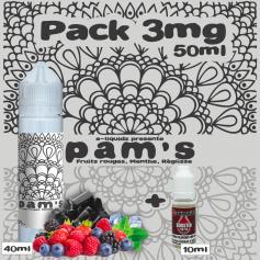 PACKS Pack 3mg 50ml PAM'S