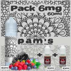 PACKS Pack 6mg 60ml PAM'S