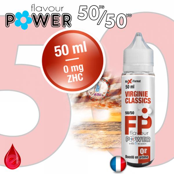 50ml 50/50 VIRGINIE CLASSICS - Flavour POWER