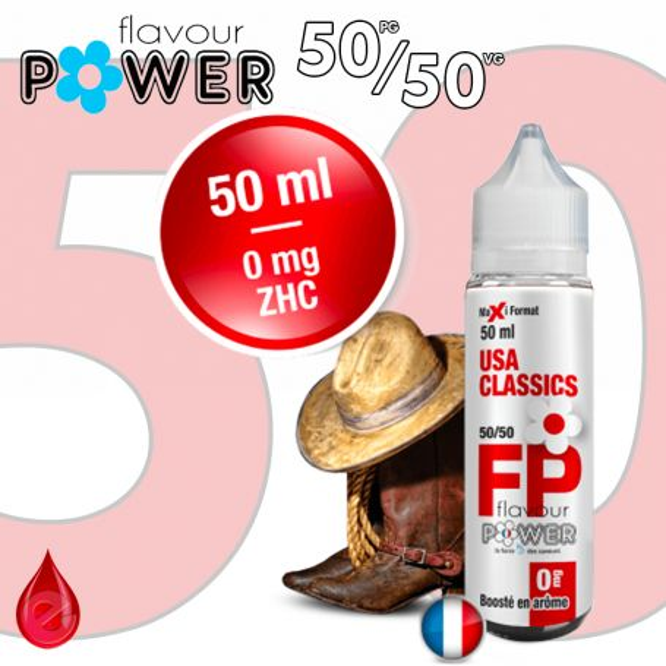 50ml 50/50 USA CLASSICS - Flavour POWER
