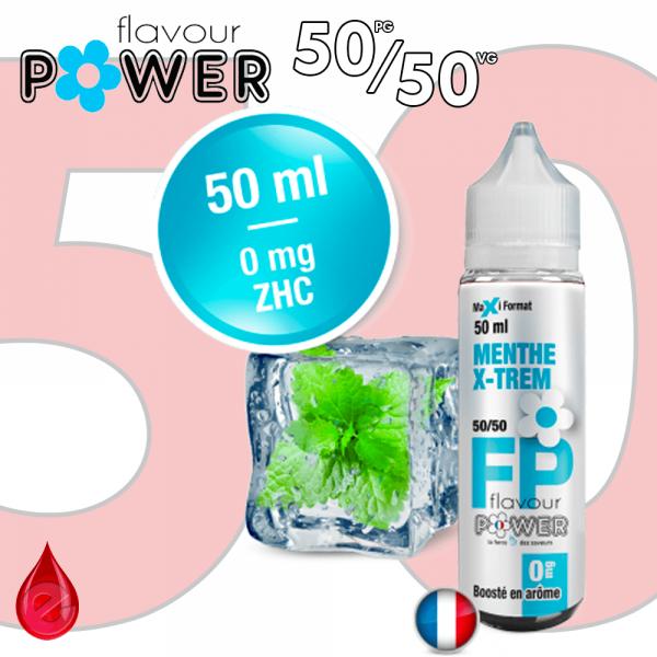 50ml 50/50 MENTHE X-TREM - Flavour POWER