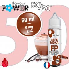 50ml 50/50 CAFE MOKA - Flavour POWER