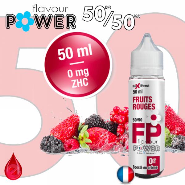 50ml 50/50 FRUITS ROUGES - Flavour POWER