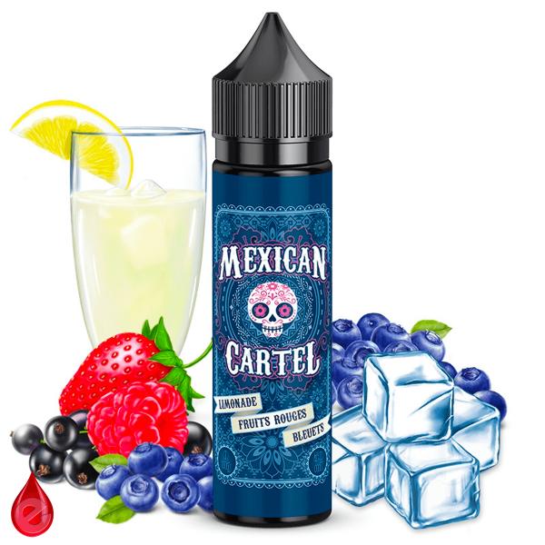 LIMONADE FRUITS ROUGES BLEUETS - MEXICAN CARTEL 50ml-eliquide