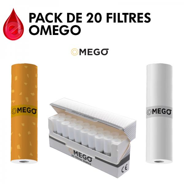 PACK DE 20 FILTRES - OMEGO