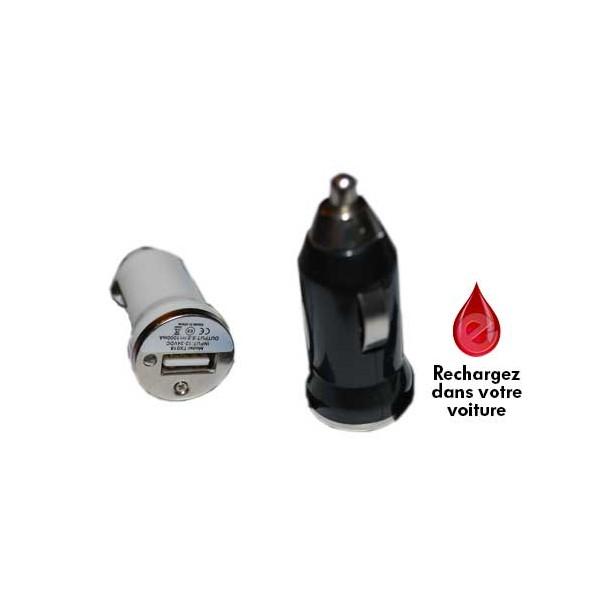 Mini chargeur allume cigare USB