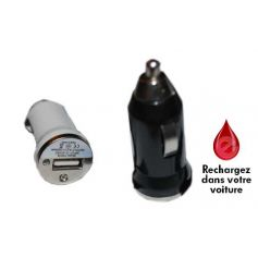 Mini chargeur allume cigare USB