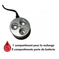 STATION DE RECHARGE USB support batterie