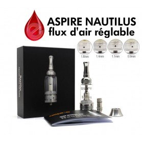 coffret ASPIRE NAUTILUS AIRFLOW ASPIRE