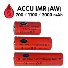ACCU AW IMR 18350 18500 18650