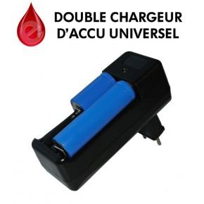 Double chargeur d'accu universel pour 18xxx