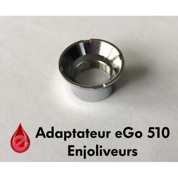 Atomiseurs, clearomiseurs... adaptateur eGo vers 510 (enjoliveur)