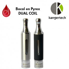 EVOD Glass kangertech 1.6ml Dual Coil (officiel)