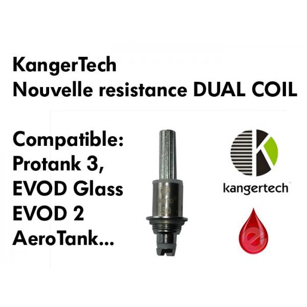 Resistance KangerTech DUAL COIL KangerTech