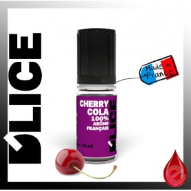 CHERRY COLA - D'lice - e-liquide 10ml D'LICE